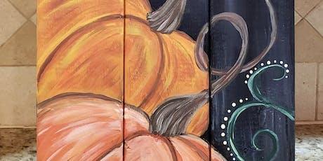Pumpkin Pallet tickets