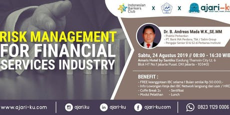 (Paid Workshop)Risk Management for Financial Services Industry tickets