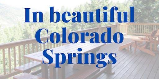 Reboot: Colorado Springs!