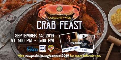 Connect 2019: A New Psalmist Summer Experience Crab Feast tickets