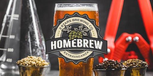 3 Stars Brewing Company Homebrew Extravaganza