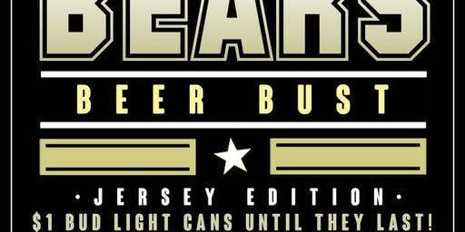 Bear Beer Bust: Jersey Edition