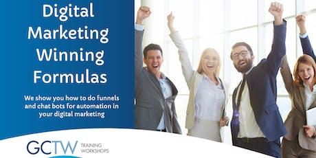 Digital Marketing Winning Formulas tickets
