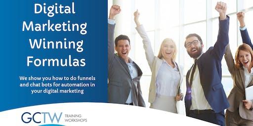 Digital Marketing Winning Formulas