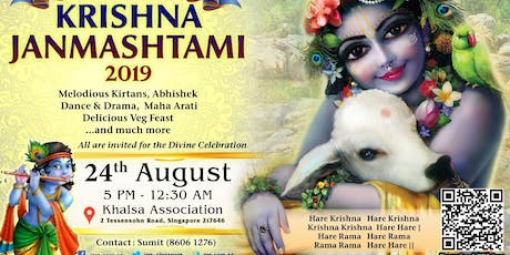 Sri Krishna Janmashtami Celebration 2019 tickets
