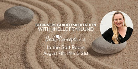 Salt Room Meditation for Beginners tickets
