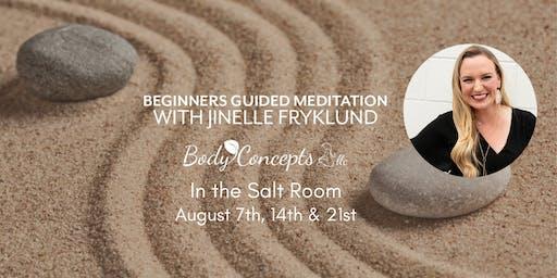 Salt Room Meditation for Beginners