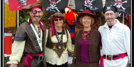 Walk Like A Pirate - Join us for a scenic walk