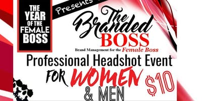 The BRANDED BOSS Headshot Event