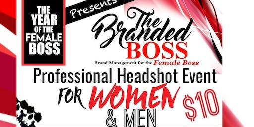 The BRANDED BOSS Headshot Event