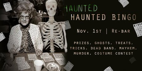 Haunted Bingo 2019 tickets