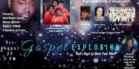 EARLY BIRD TICKETS!!! GOSPEL EXPLOSION...God's Bout to Blow Your Mind tickets
