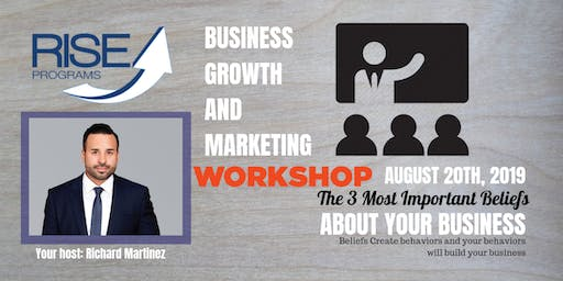 Small Business Marketing Workshop by POP LA and Rise Programs