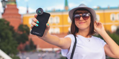 Camera confidence - learn how to present yourself and tell your story through photo, audio and video tickets