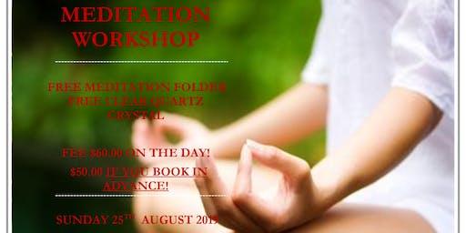 The Heart of Meditation Workshop