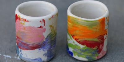 Adewole Arts Clay Kitchen @Crafted Learn to make Ceramic Shot Cups