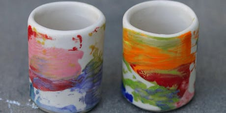 Adewole Arts Clay Kitchen @Crafted Learn to make Ceramic Shot Cups tickets