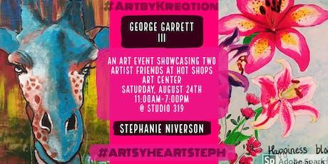 Friends Art Show at Hot Shops tickets
