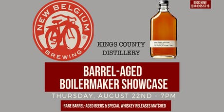 Barrel-aged Boilermaker Evening (New Belgium X Kings County) tickets