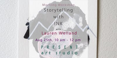 Storytelling with Ink: Abstract Painting
