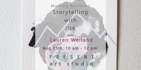 Storytelling with Ink: Abstract Painting tickets
