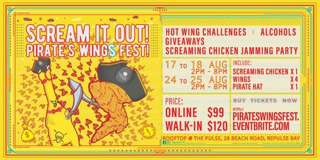 Scream it Out! Pirate's Wings Fest tickets