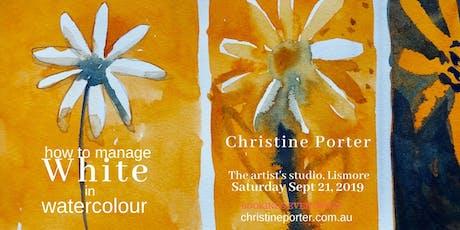 White in Watercolour - art workshop  tickets