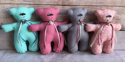 Мягкая игрушка для детей от 6 лет, 8 уроков