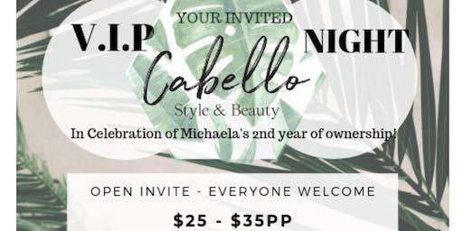 CABELLO VIP NIGHT