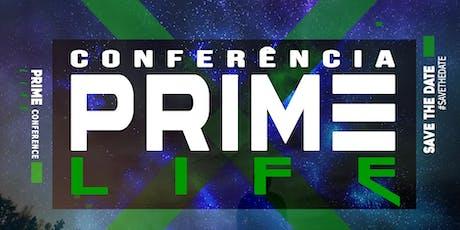 Conferência Prime LIFE ingressos