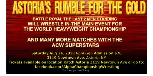 Astoria's Rumble for the Gold