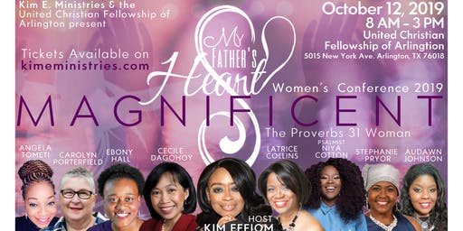 My Father's Heart Women's Conference 2019