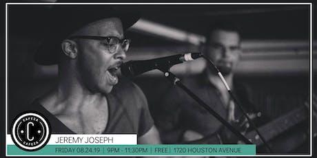 Cafeza Presents - Jeremy Joseph tickets