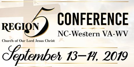 Region 5 Conference Registration tickets