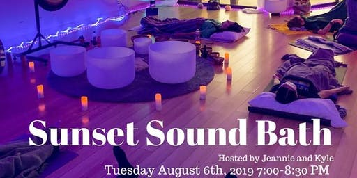 Sunset Sound Bath (SOLD OUT)