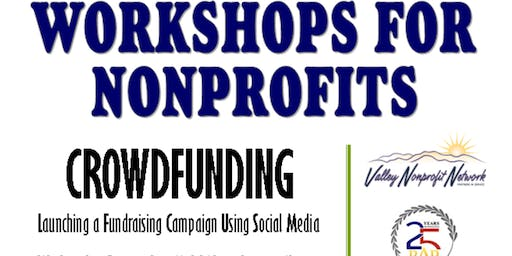 Crowdfunding - Workshops for Nonprofits
