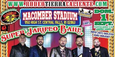 SUPER JARIPEO CON LOS INQUIETOS DEL NORTE DAREYES DE LA SIERRA  tickets