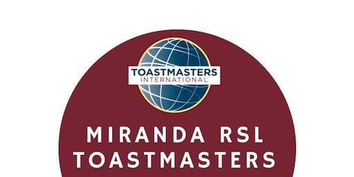 Miranda RSL Toastmasters