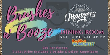 Brushes-N-Booze tickets