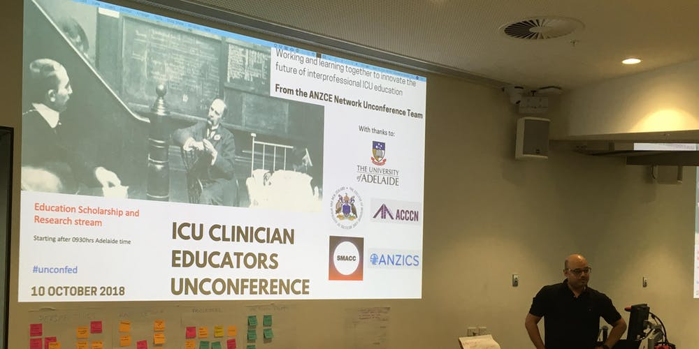 ICU World Congress - Clinician Educator Unconference 2019
