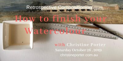 How to Finish your Watercolour  - art workshop