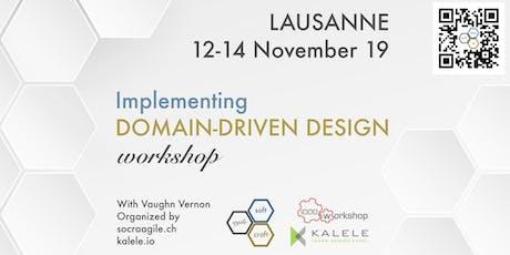 Intensive, 3-Day, hands-on IDDD Workshop by Vaughn Vernon in Lausanne (CH) tickets