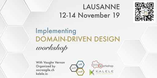 Intensive, 3-Day, hands-on IDDD Workshop by Vaughn Vernon in Lausanne (CH)
