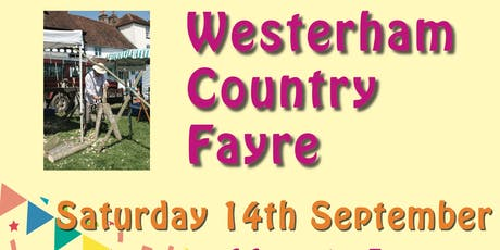 Westerham Country Fayre & Horticultural Show tickets