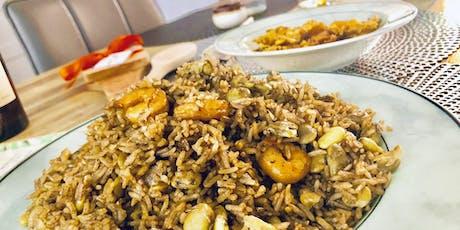 Cuisinons le riz djon djon billets