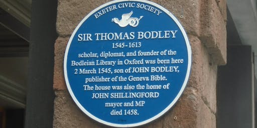 EXETER'S PLAQUES