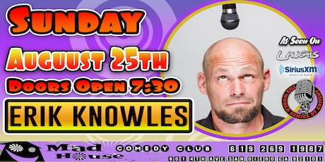 Erik Knowles - Winner, The World Series of Comedy as seen on Laughs on Fox! tickets
