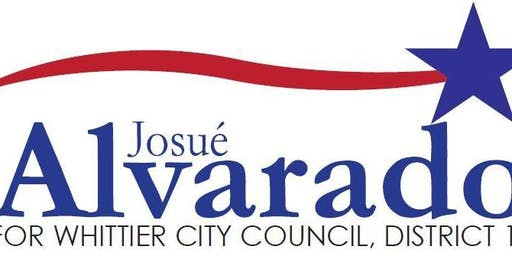 Josue Alvarado for Whittier City Council District 1 2020 Campaign Kick Off