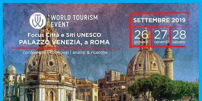 World Tourism Event UNESCO | Laboratorio Turistico