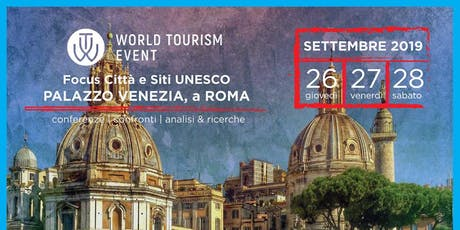 World Tourism Event UNESCO | Laboratorio Turistico biglietti